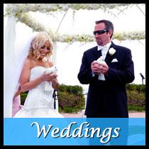 Wedding ceremony dove release