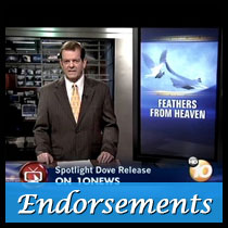 public endorsements for feathers from heaven
